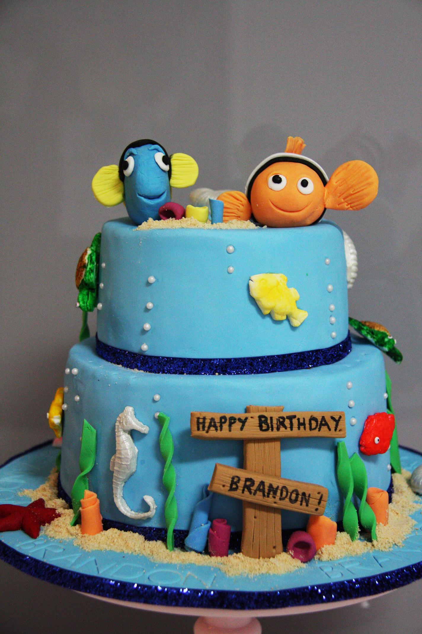 Cake Design Nemo : Nemo cake