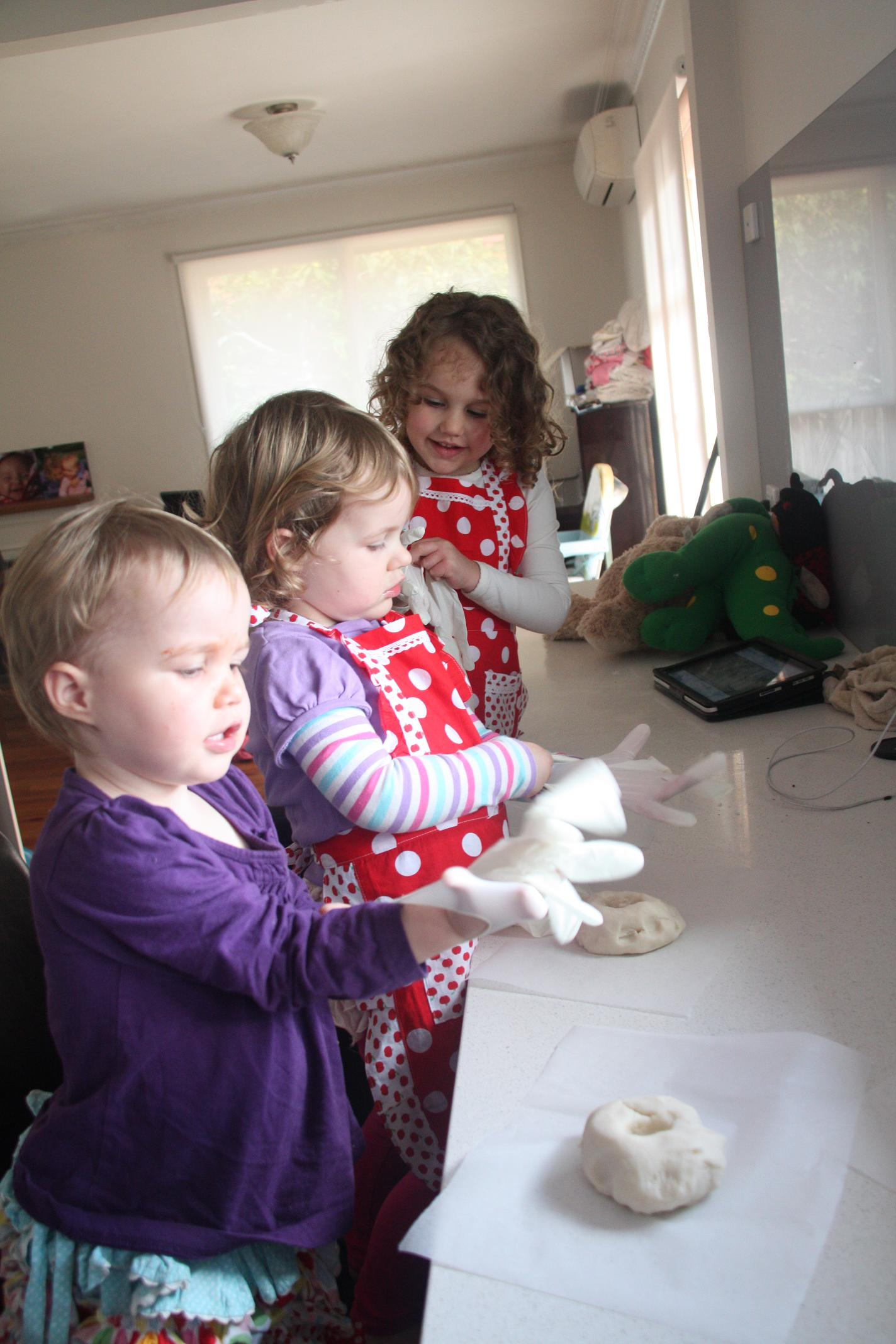 Cooking With Kids Making Playdo
